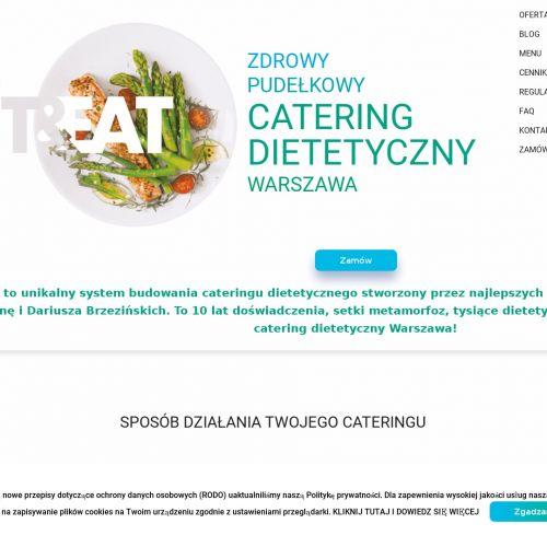 Cateringi dietetyczne - Warszawa