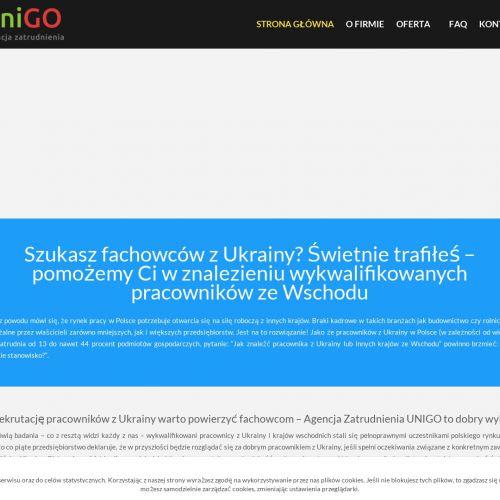 Fachowcy z Ukrainy