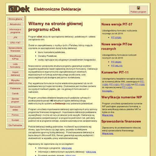 Program do wysyłania deklaracji podatkowych dla firm