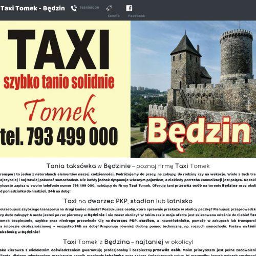Tanie taxi Będzin