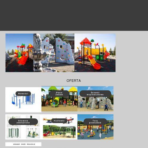 Projektowanie placów zabaw