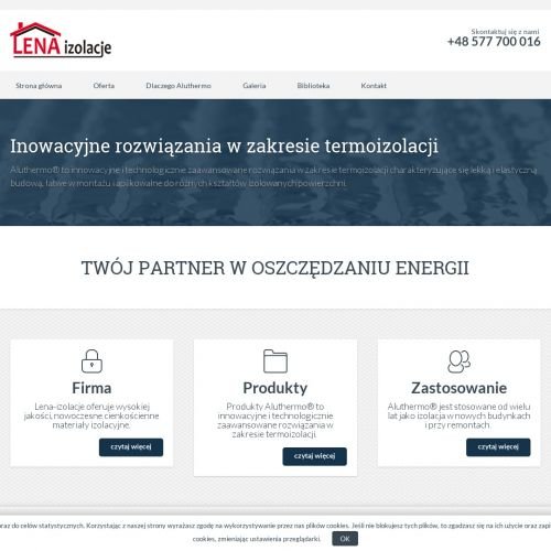 Ocieplenie rolety fasadowej - Sopot