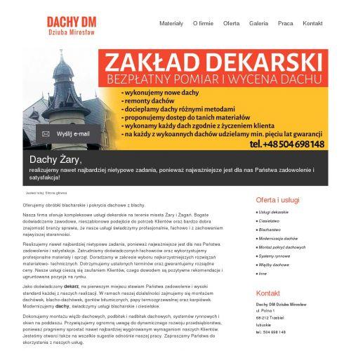 Dekarz w Żaganiu