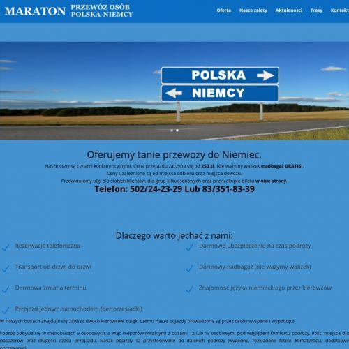 Przewozy do Niemiec z Kielc
