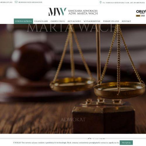 Porady prawne dla Klientów z Płocka