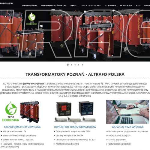Transformatory przemysłowe