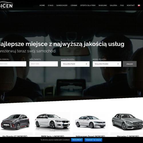 Najnowsze samochody na wynajem w Warszawie
