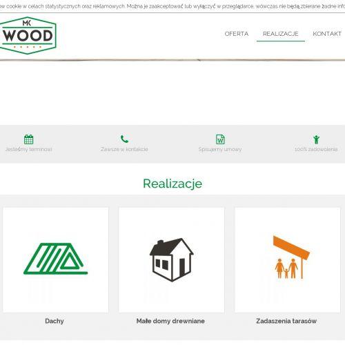 Budowa zadaszenia drewnianego na samochód
