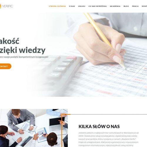 Profesjonalne biuro rachunkowe Verifi