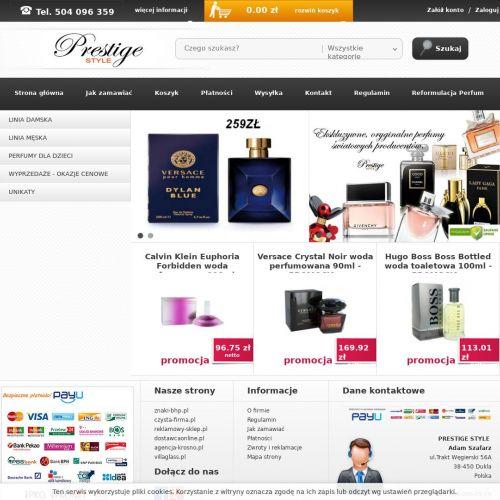 Tanie perfumy męskie ze sklepu internetowego