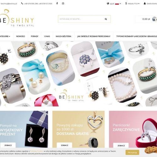 Sklep online z biżuterią ze srebra