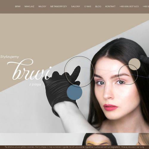 Salon kosmetyczny brwi
