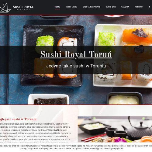 Najlepsze sushi w Toruniu