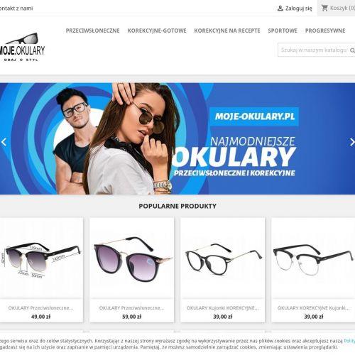 Sklep z tanimi okularami korekcyjnymi