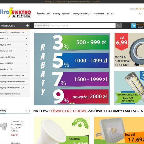 Gniazda elektryczne i plafoniery SMD