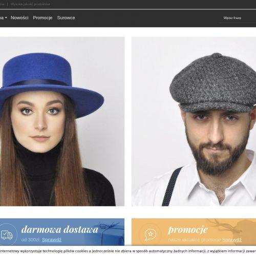 Berety, czapki, kapelusze - Warszawa