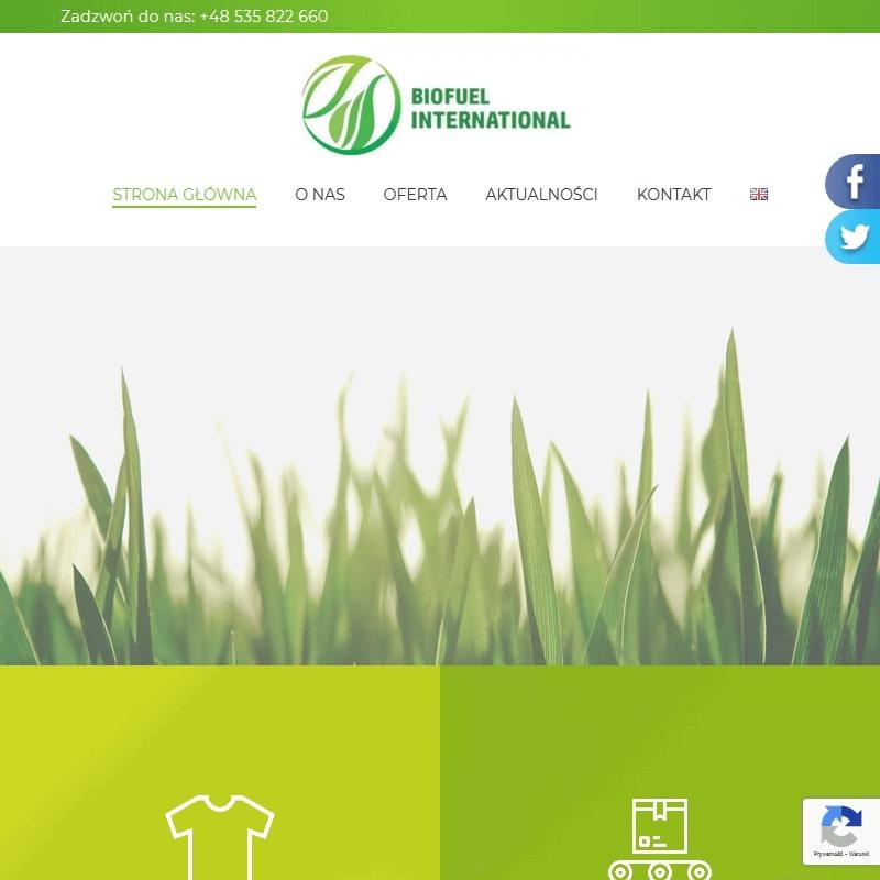 Biopaliwo z odzieży