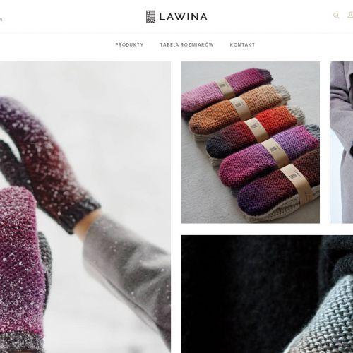 Wełniane rękawiczki zimowe