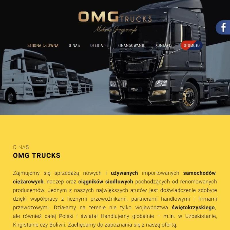 Używane samochody ciężarowe MAN
