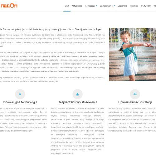 Oczyszczanie wody w basenach, dla szpitali i w SPA