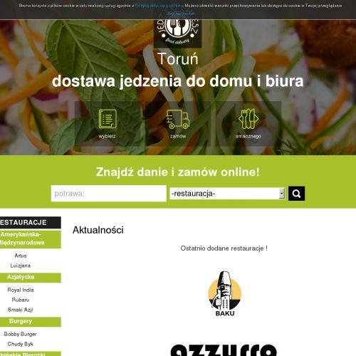 Jedzenie na dowóz w Toruniu