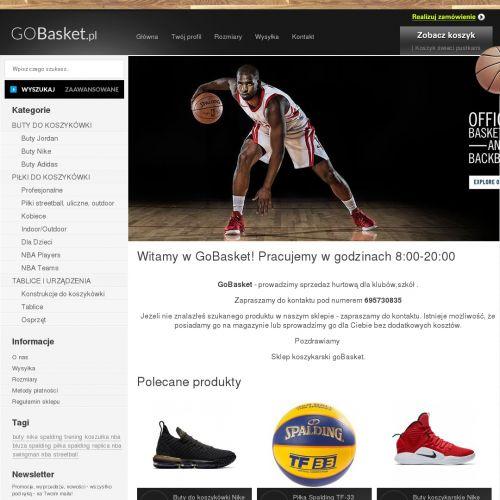 Odzież koszykarska i piłki Spalding