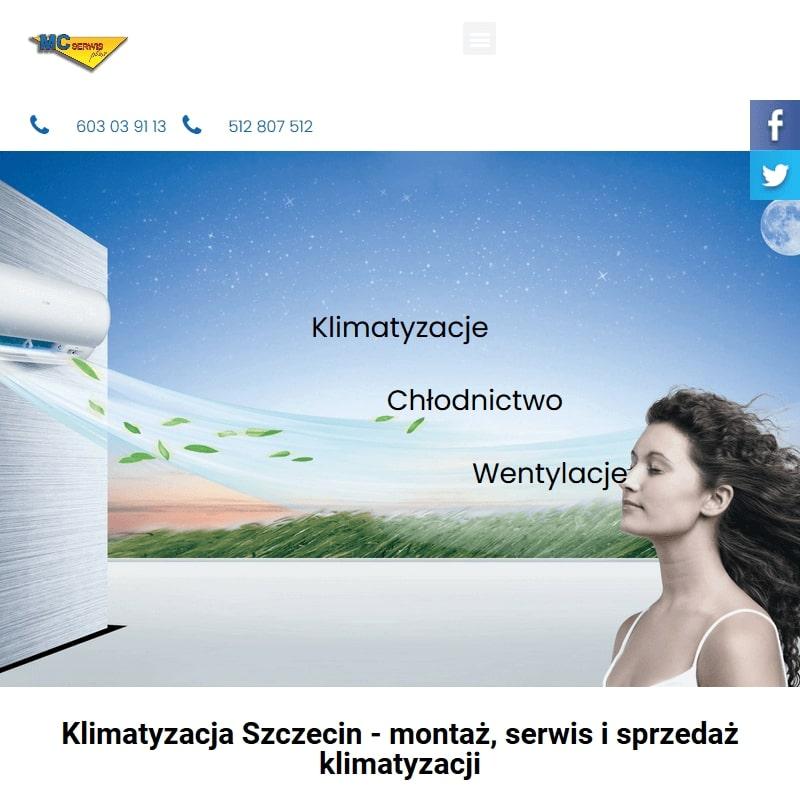 Serwis klimatyzacji w Mierzynie