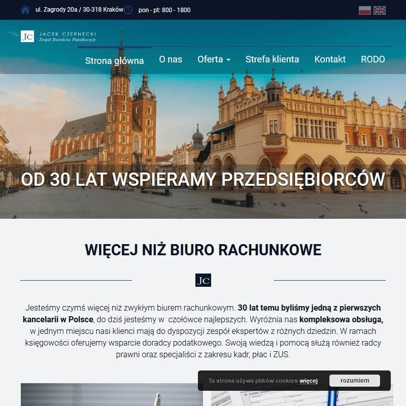 Doradztwo podatkowe w Krakowie