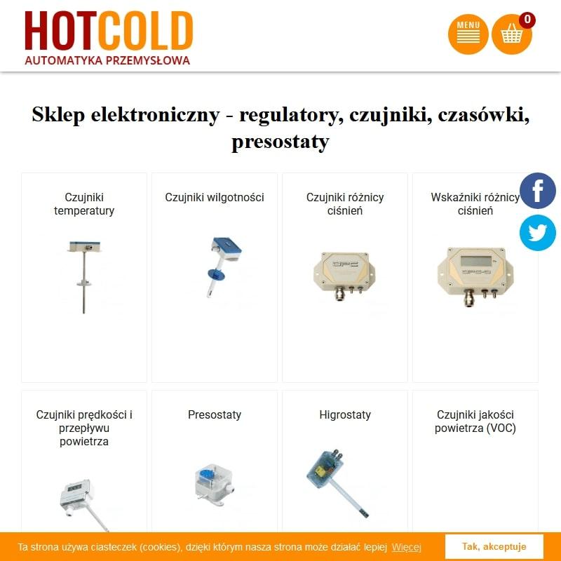 Regulatory temperatury i wilgotności do inkubatorów