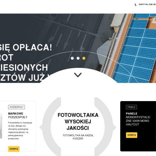 Instalacje fotowoltaiczne – woj. lubelskie