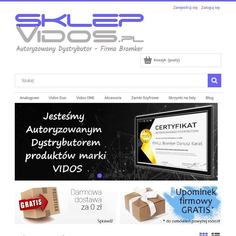 Wideodomofony IP i przewodowe