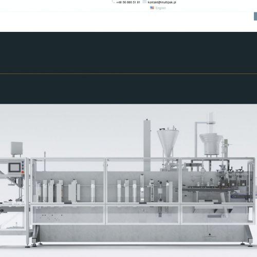 Producent maszyn pakujących