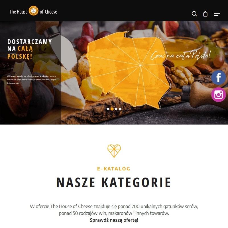 Sklep internetowy z serami kozimi i mieszanymi