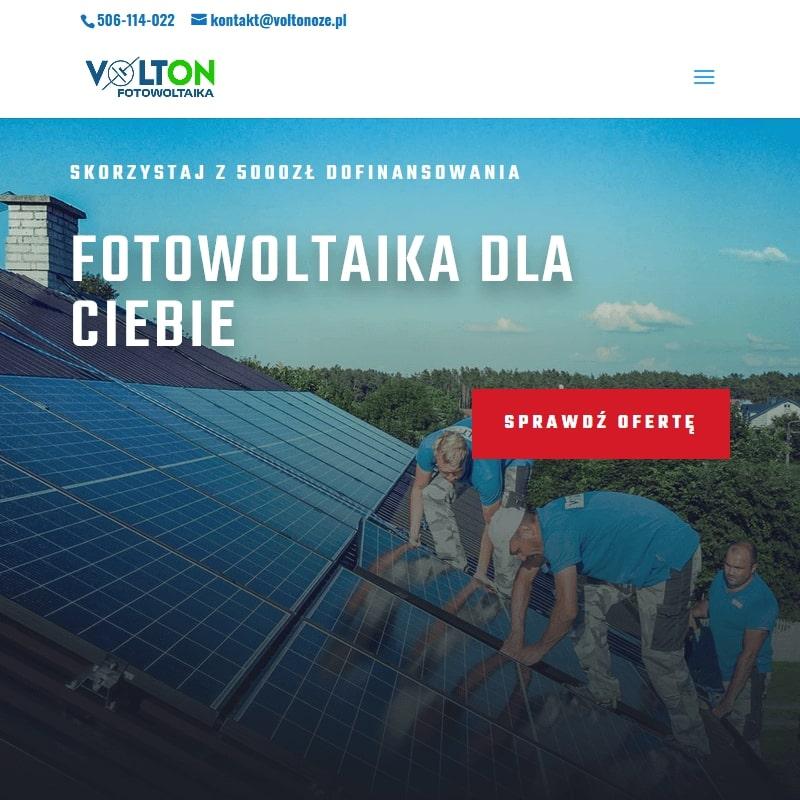 Instalacje fotowoltaiczne – Olsztyn