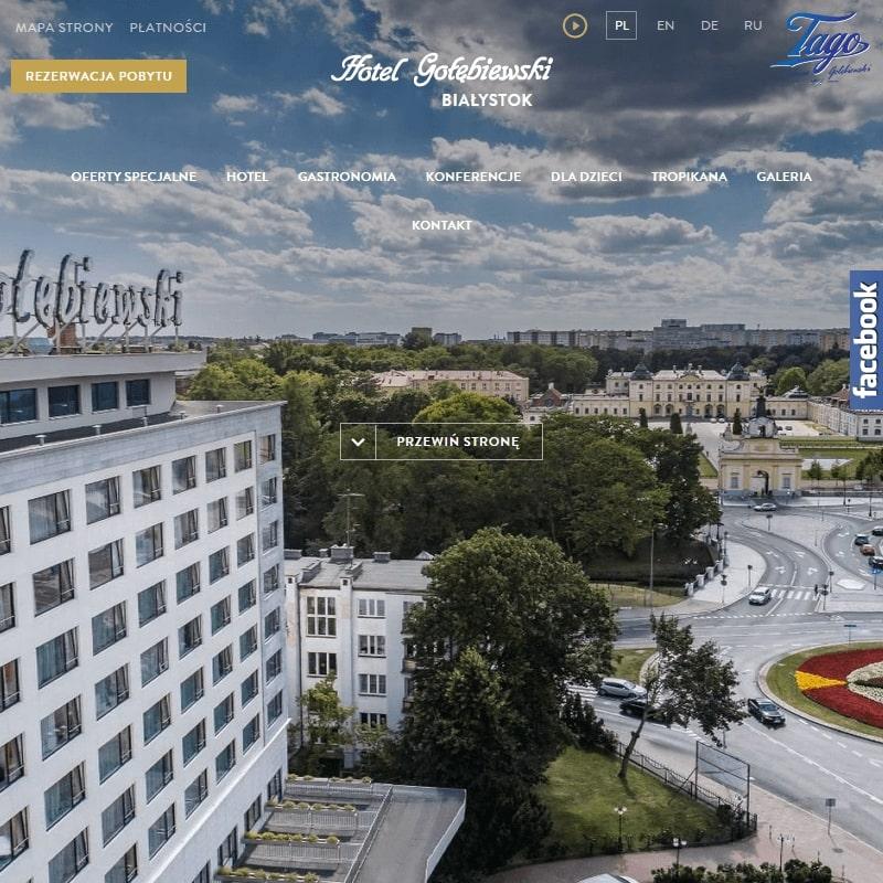 Hotel z basenem – Białystok