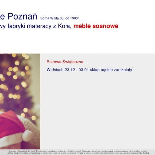 Materace na wymiar w Poznaniu