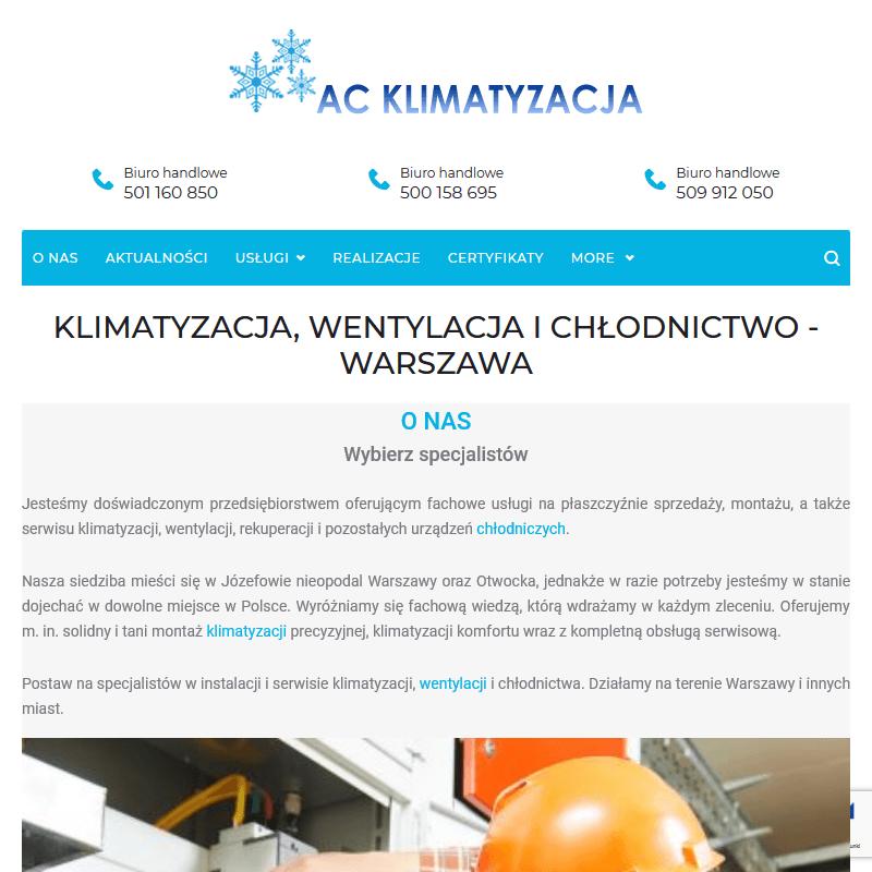 Wentylacja - Warszawa