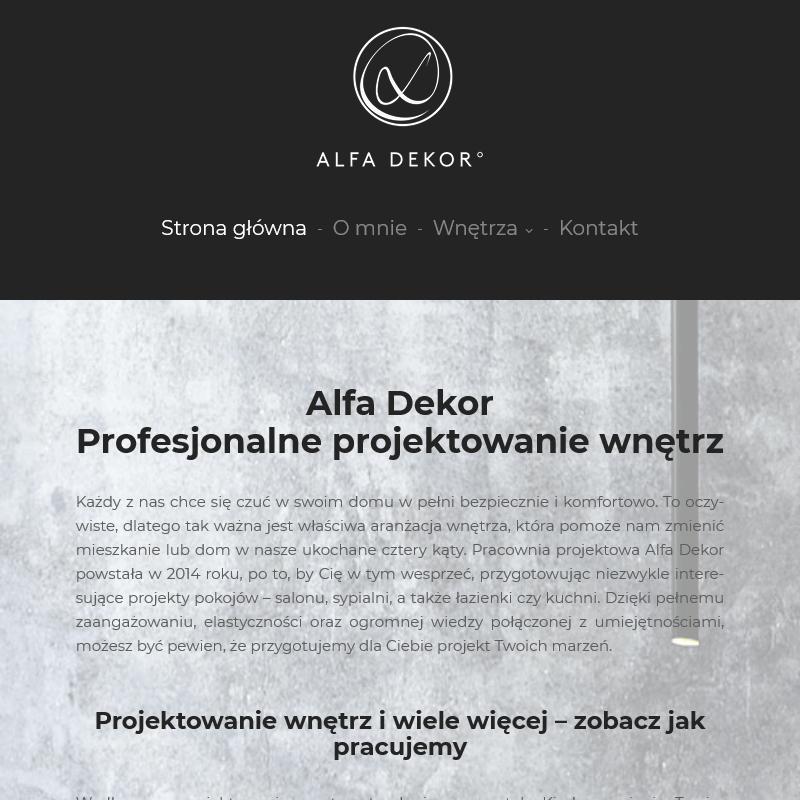 Wizualizacja salonu - Warszawa Wilanów