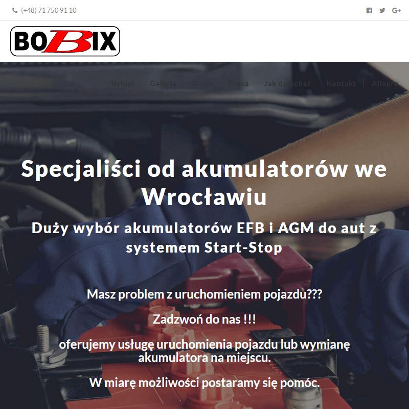 Sklep z akumulatorami - Wrocław