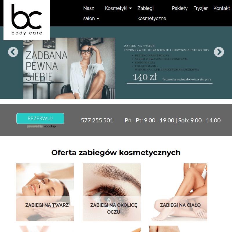 Gabinet kosmetyczny - Kraków