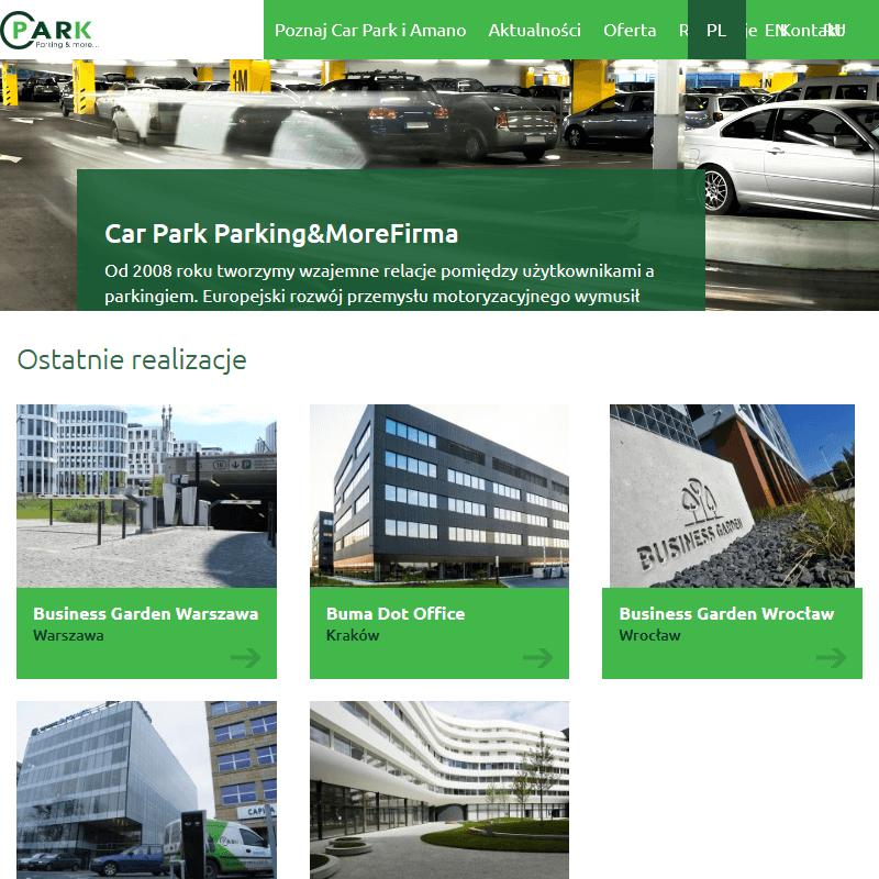 Profesjonalne systemy parkingowe
