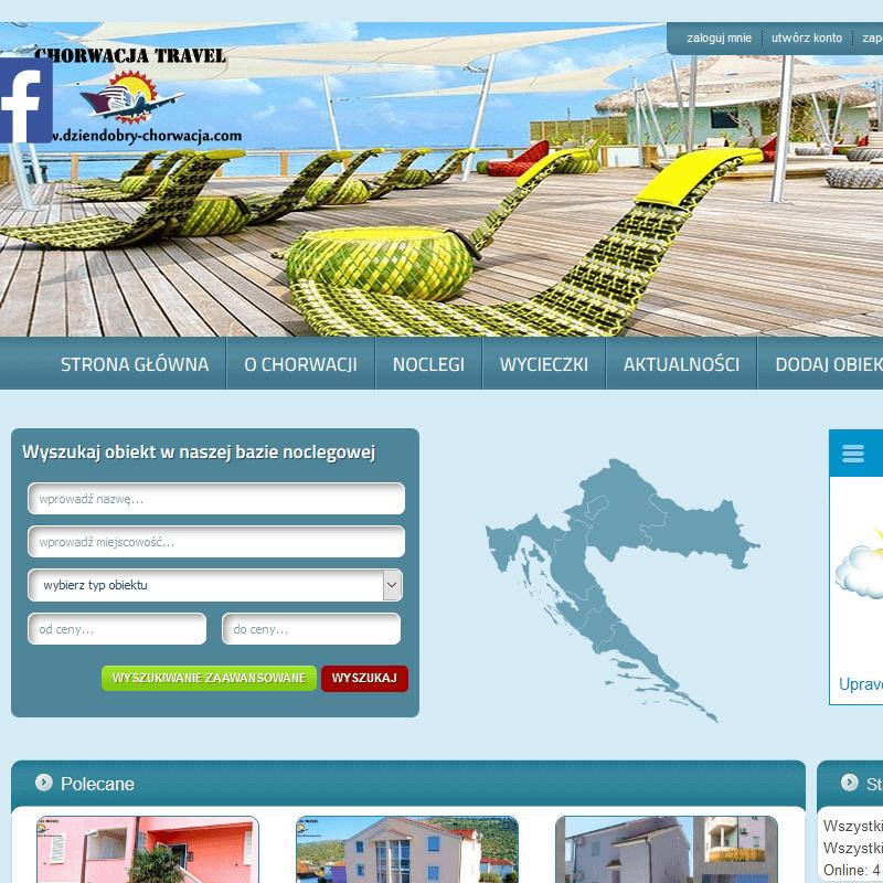 Apartamenty z basenem - Chorwacja
