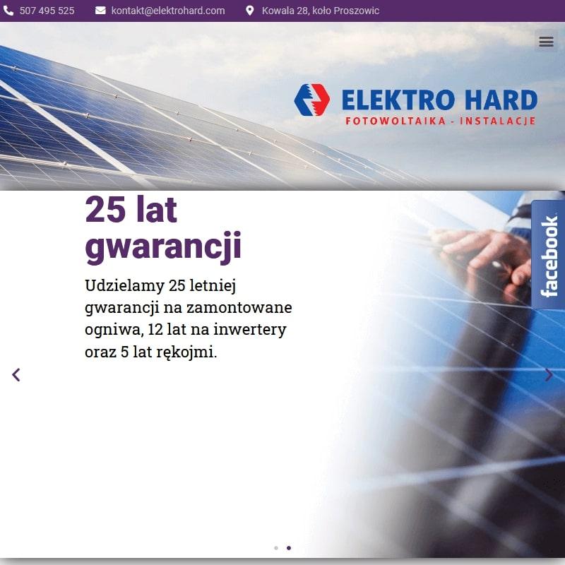 Firma fotowoltaiczna z Małopolski