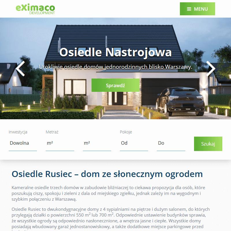 Budowa domu pod Warszawą