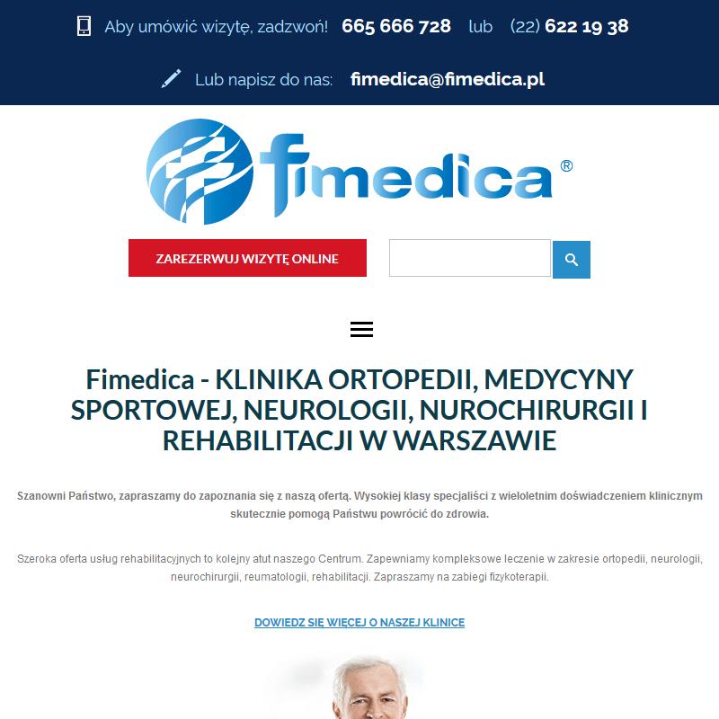 Rehabilitacja pooperacyjna - Warszawa
