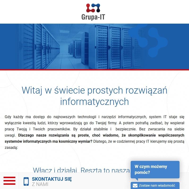 Firma informatyczna – Warszawa