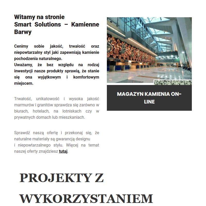 Marmur na zamówienie - Warszawa