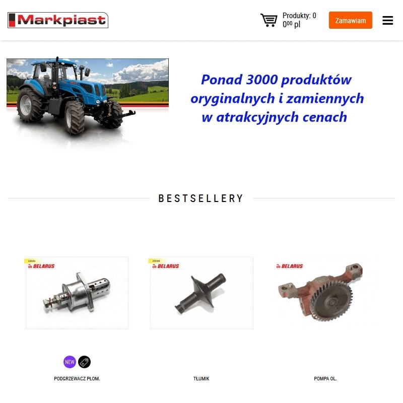 Pompy hydrauliczne do MTZ