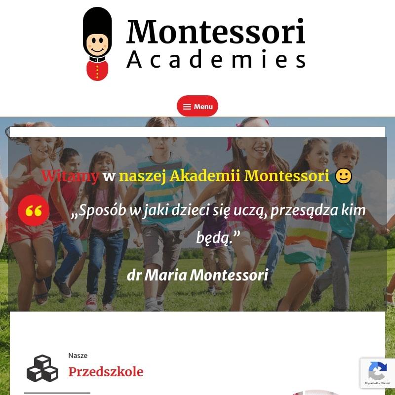 Prywatne przedszkole Montessori w pobliżu Warszawy