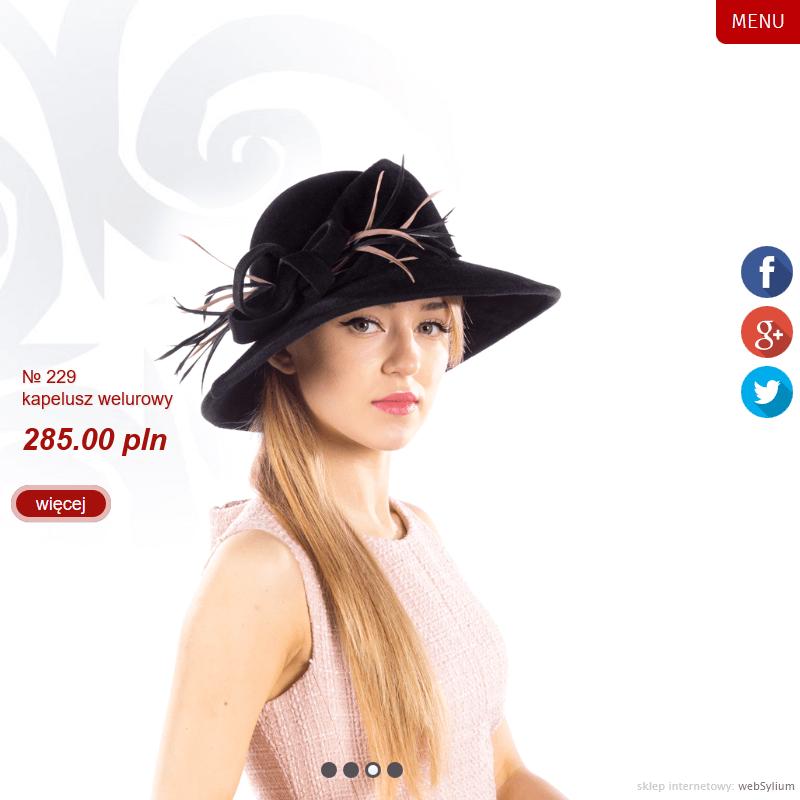Ekskluzywne damskie kapelusze